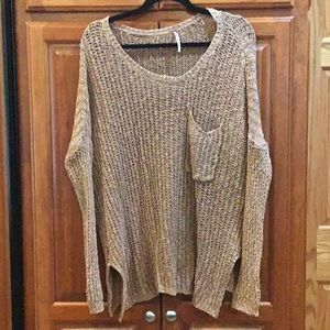 Oversized Cozy Free People Sweater